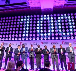 Legends of Football supported by HMV.  In aid of Nordoff Robbins. Wednesday 5th October 2016. Grosvenor House, Park Lane. Photo Credit: John Marshall - JM Enternational